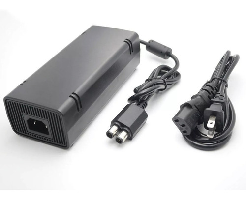 Cargador Eliminador Consola Xbox 360 Slim Conector Doble