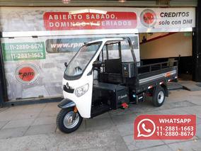 Zanella Zmax S Truck 200 Tricargo Utilitario Carga 2018