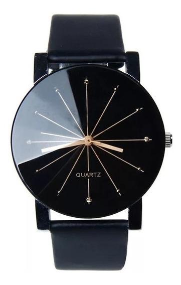 Promoción Reloj Negro Básico + Envío Gratis Cv38