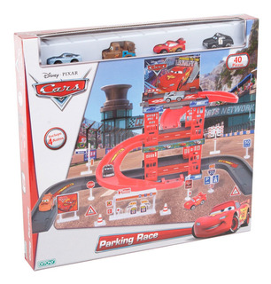 Cars Parking Race Con Autos Incluidos Original Ditoys