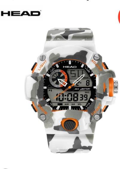 Relógio Masculino Head Watches -original Na Caixa-prova D