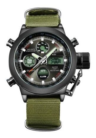 Relógio Masculino Militar Digital Analógico Golden Hour