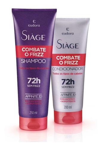Eudora - Siáge - Combate O Frizz - Shampoo/condicionador