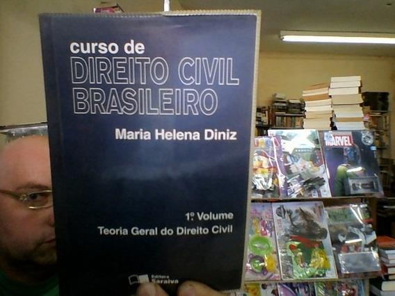 Livro Curso De Direito Civil Brasileiro 1 - Maria Diniz