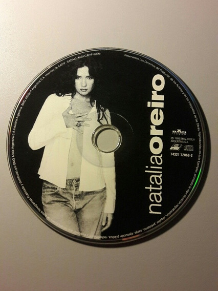 Natalia Oreiro Cd Original Bmg 1999
