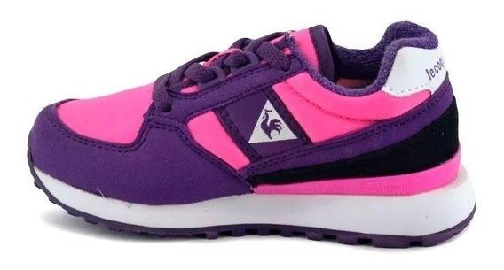 Zapatillas Niñas Lecoqsportif Eclat 90 Jr Pink Violet