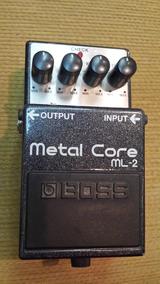 Pedal Boss Ml2 Metal Core - Praticamente Sem Uso!!
