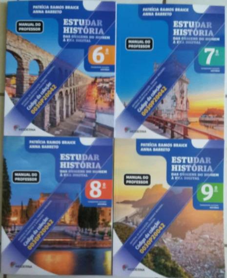Estudar História Pnld 2020 4 Volumes Livro Do Professor
