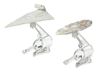 Hot Wheels Star Wars Starship Destroyer Vs Mon Calamari Crui