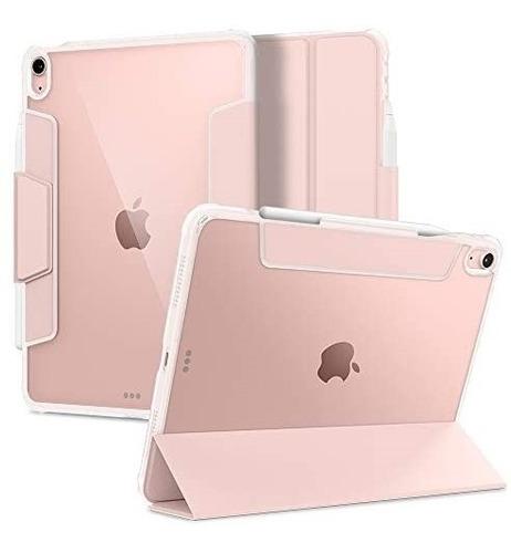 Imagen 1 de 6 de Funda Spigen Ultra Hybrid Pro iPad Air 4th Gen 10.9 Rosa
