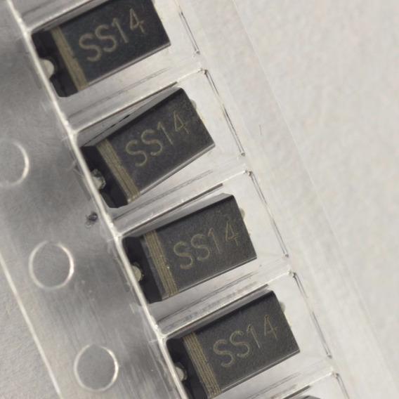 100x Diodo Schottky 1a - 40v - 1n5819 - In5819 - Ss14