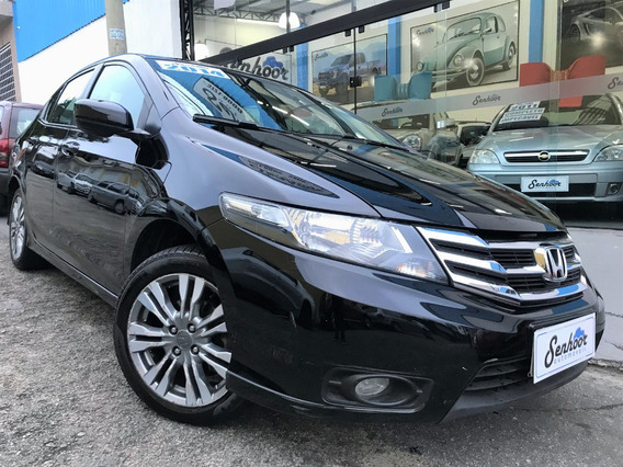 Honda City Lx 1.5 Flex Automático Preto - 2014