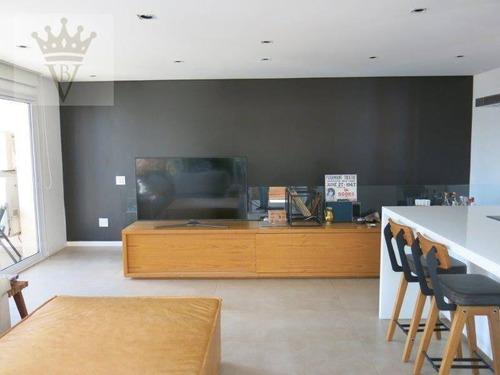 Cobertura Com 2 Dormitórios À Venda, 148 M² Por R$ 2.100.000,00 - Vila Nova Conceição - São Paulo/sp - Co0062