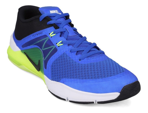 Zapatillas Nike Zoom Train Complete - Azul Y Verde-claro