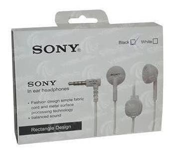 Fone De Ouvido Headset Som Alto Sony E9lp - Lacrado
