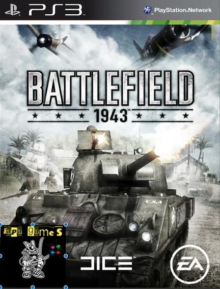 Battlefield 1943 Jogos Ps3 Psn Original Receba Hoje