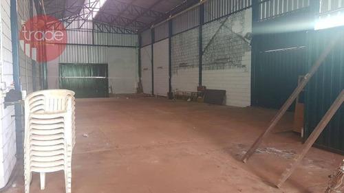Salão Para Alugar, 227 M² Por R$ 2.200,00/mês - Jardim Palma Travassos - Ribeirão Preto/sp - Sl0086