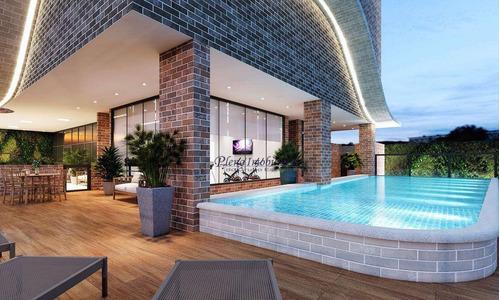 Imagem 1 de 30 de Apartamento Com 3 Dormitórios Sendo 3 Suítes, À Venda, 109 M² Por R$ 604.088 - Guilhermina - Praia Grande/sp - Ap0974