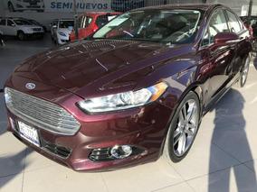Ford Fusion 2013 4p Titanium Plus L4 Qc Equipado