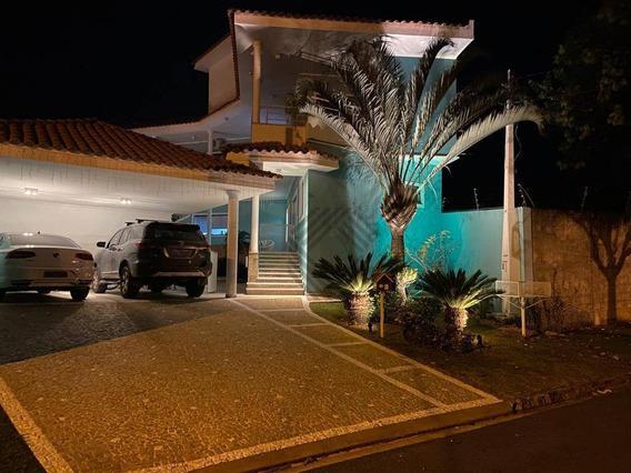 Sobrado Com 4 Dormitórios À Venda, 498 M² Por R$ 1.950.000,00 - Condomínio Saint Claire - Sorocaba/sp - So4415