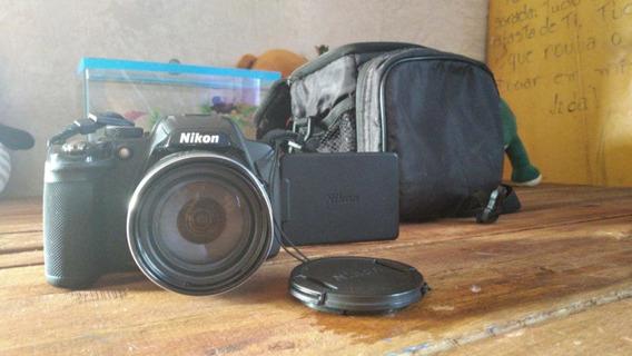 Nikon Coolpix P520 - Pouco Usada - Com Bolsa