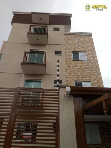 Apartamento Com 2 Dorms Sem Vaga, À Venda Por R$ 220.000 - Cidade Patriarca - São Paulo/sp - Ap0777