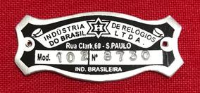 Plaqueta Para Relógio Cuco H Modelo 102
