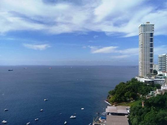 Apartamento 1/4 Suíte Com Vista Mar 60m2 Na Barra - Adr328 - 4497382