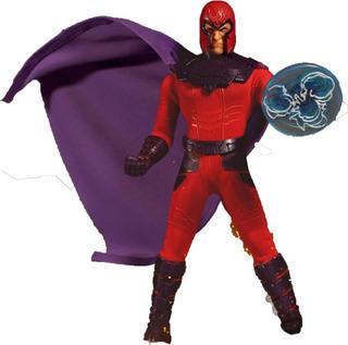 Mezco Toyz Magneto One 12 Figura De Colección