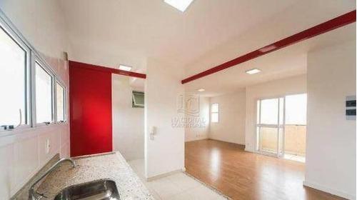 Apartamento Com 2 Dormitórios À Venda, 74 M² Por R$ 350.000,00 - Jardim - Santo André/sp - Ap12098