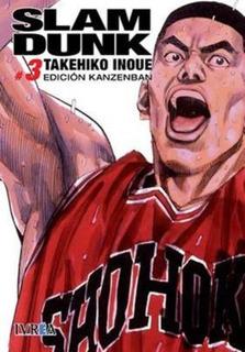 Manga Slam Dunk Ed. Kanzenban # 03 - Takehiko Inoue