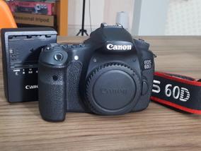 Câmera Canon 60d (corpo) Apenas 9k Clicks