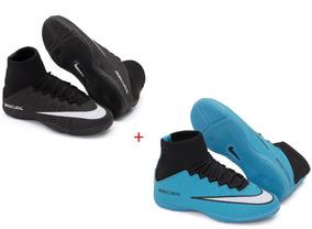 3f12b0f70eb3e Chuteira Nike Mercurial Branca/preta/rosa Nº37 - Chuteiras para ...