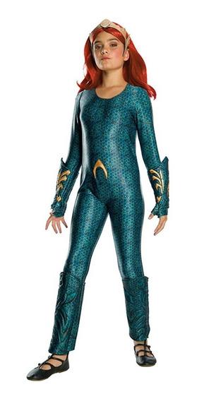 Disfraz Niña Aquaman Mera 5/7 8/10 12/14 Años