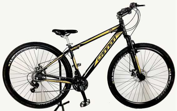 Bicicleta Wave Aro 29 Freio A Disco Cambio Shimano Cannon