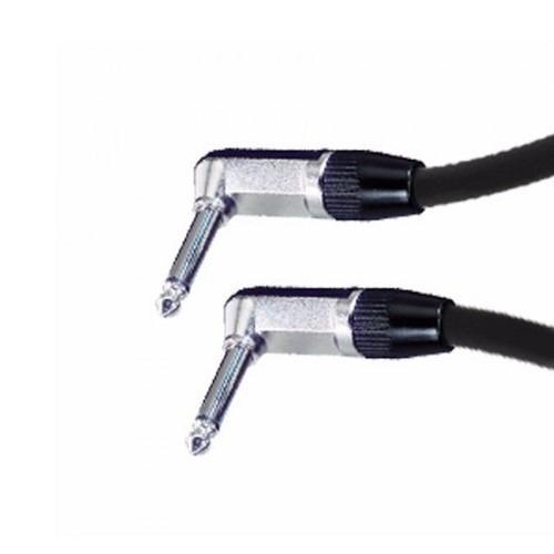 Cable Plug Plug 90° Ts Mono De Audio Neutrik Rean 1m Cabtec