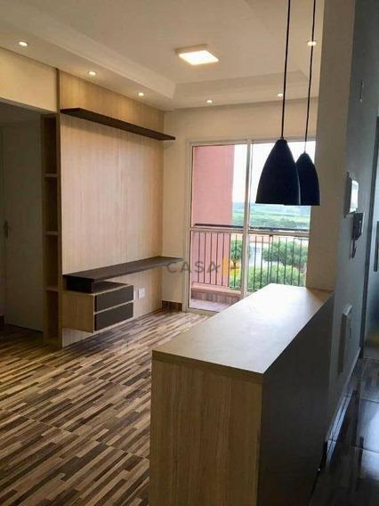 Apartamento Com 2 Dormitórios À Venda, 55 M² Por R$ 250.000 - Residencial Dona Margarida - Santa Bárbara D