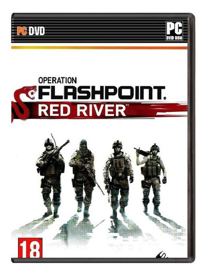 Operation Flashpoint: Red River - Pc - Mídia Física