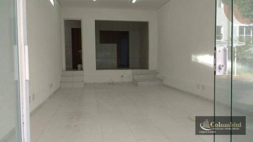 Imagem 1 de 10 de Salão, 92 M² - Santo Antônio - São Caetano Do Sul/sp - Sl0062