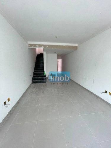 Imagem 1 de 26 de Casa Com 3 Dormitórios À Venda, 165 M² Por R$ 850.000,00 - Marapé - Santos/sp - Ca0575