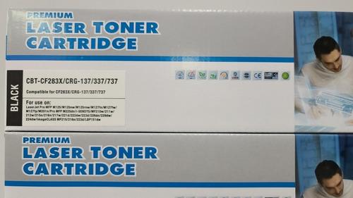 Toner 100% Premium Hp Cf283a. M125,m127,hp M127nf