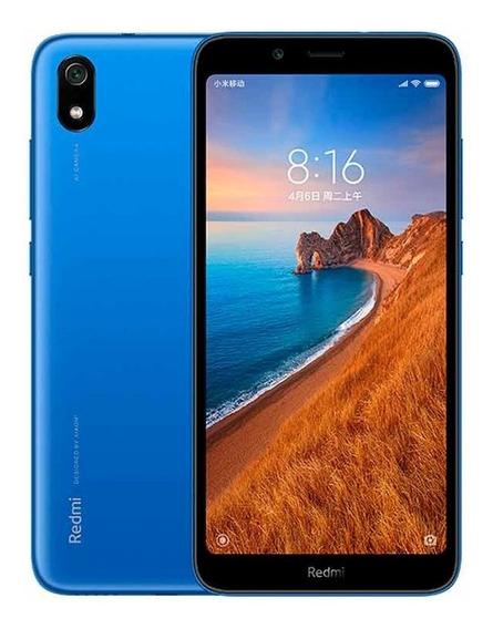 Smartphone Xiaomi Redmi 7a Azul, Tela 5.45 , 2gb+16gb, Dual