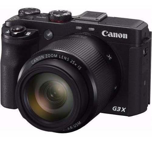 Câmera Canon Powershot G3x 20.2mp Zoom 25x Wifi Nfc Fhd