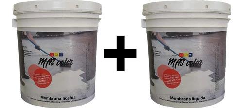Membrana Liquida Techos Y Muros 20+20 Kg La Mejor Calificada