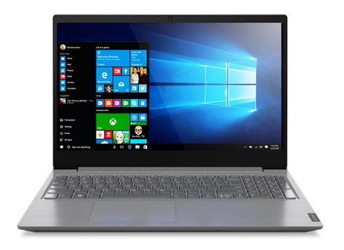 "Imagen 1 de 4 de Notebook Lenovo ThinkBook V15 IIL iron gray 15.6"", Intel Core i3 1005G1  8GB de RAM 256GB SSD, Intel UHD Graphics 1366x768px Windows 10 Home"