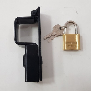 Trava Portao Cadeado C/ Cadeado Pado N.03 Med: 3,5cmx5,0cm