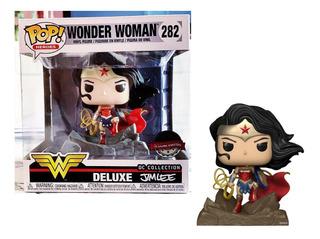 Funko Pop #282 Wonder Woman - Dc Jim Lee - Especial Edition