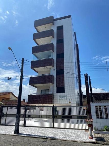 Apartamento 100 Metros Da Praia, Mongaguá-ref. 0996 M H