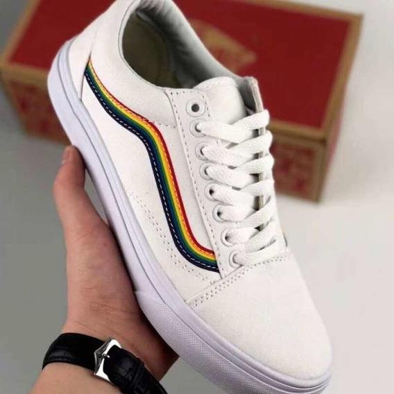 Vans Multicolor White