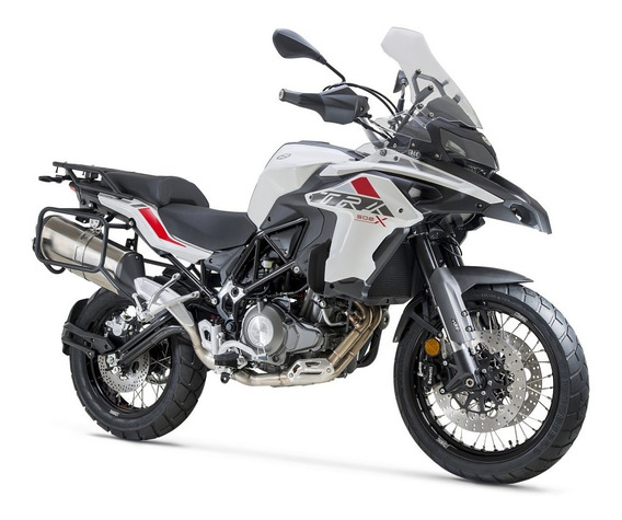 Motocicleta Benelli Trk 502x Blanca 12 Meses Sin Intereses